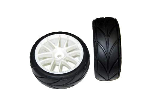 redcat 02020W White Road Wheels and Tires - RUI YONG HOBBY