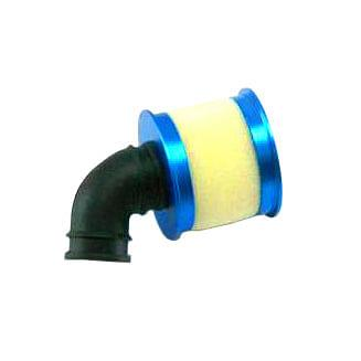redcat 04104B Aluminum capped air filter w/ element (blue) - RUI YONG HOBBY