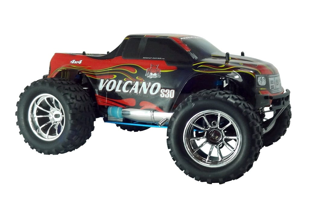 REDCAT VOLCANO S30 1/10 SCALE NITRO MONSTER TRUCK (BLUE)