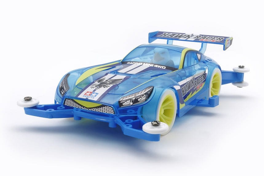 TAMIYA 95414 JR HAWK RACER GT CLEAR BLUE