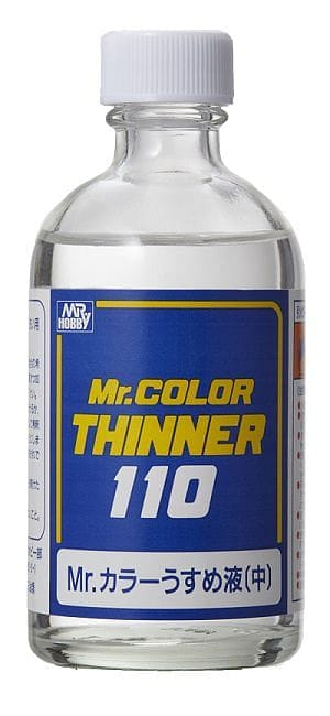 MR.COLOR THINNER 110ML - RUI YONG HOBBY