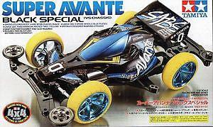 JR Super Avante Black Special - VS Chassis - RUI YONG HOBBY
