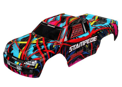 TRAXXAS 3649 - Body, Stampede®, Hawaiian graphics (painted, decals applied)