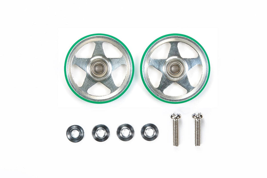 TAMIYA 95493 JR 19MM ALUM ROLLERS(5 SPOKES)