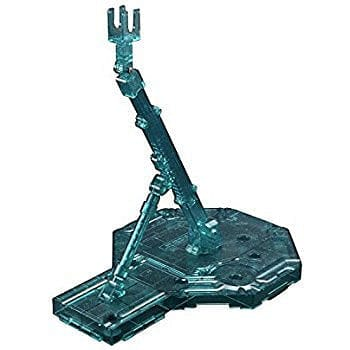 BANDAI 156776  (Sparkle Clear) Green Action Base1 Display Stand 1/100