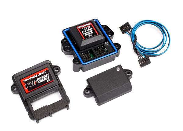 TRAXXAS 6553X - Telemetry expander 2.0 and GPS module 2.0, TQi radio system