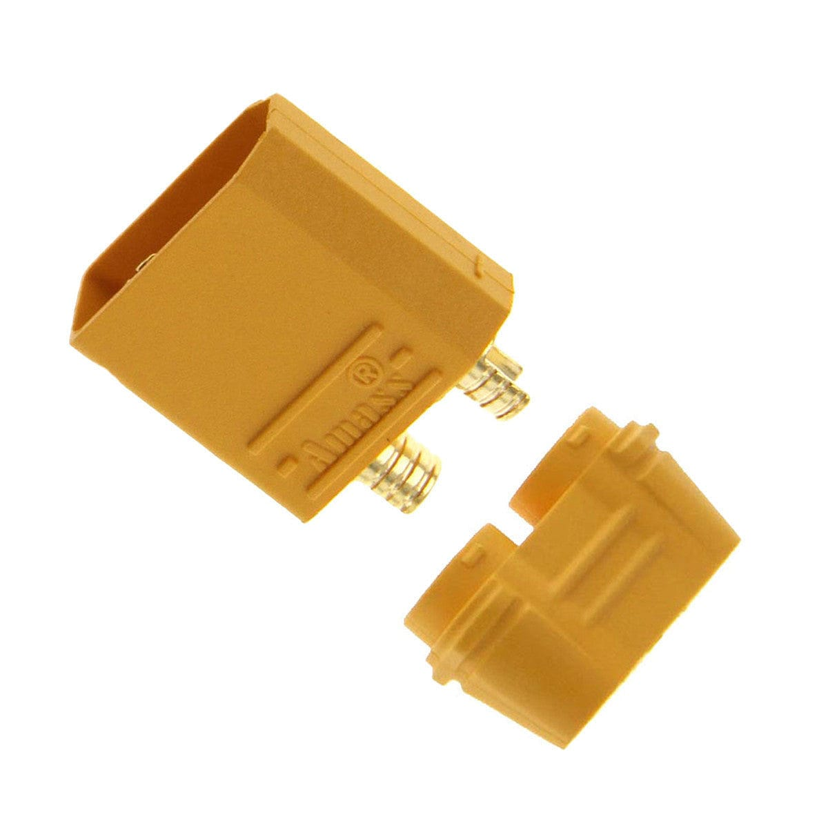 AMASS XT90 FEMALE CONNECTOR PLUG FOR LIPO OR NIMH BATTERIES