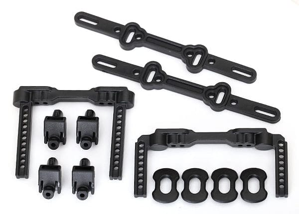TRAXXAS 8316 - Body mounts, front & rear