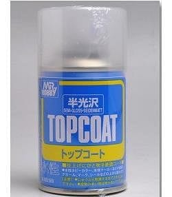 GNZ-B502: B502 Mr. Top Coat Semi-Gloss Spray