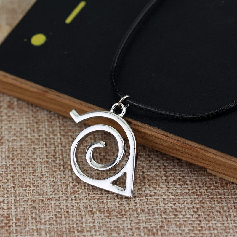 Naruto Konoha Sign Necklace - RUI YONG HOBBY