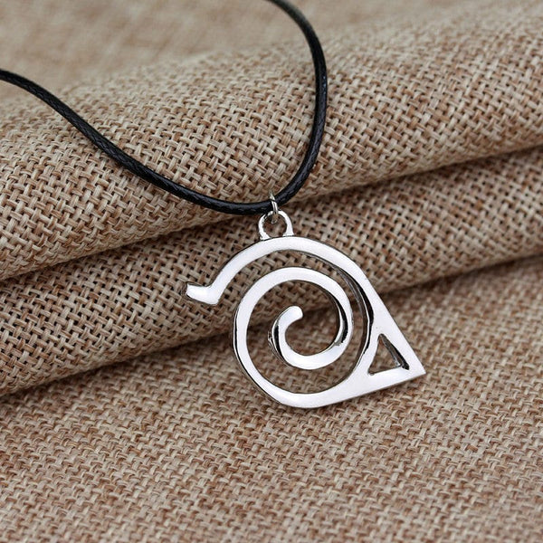 Naruto Konoha Sign Necklace