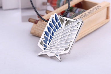Attack on Titan Scout Regiment Logo Necklace - RUI YONG HOBBY