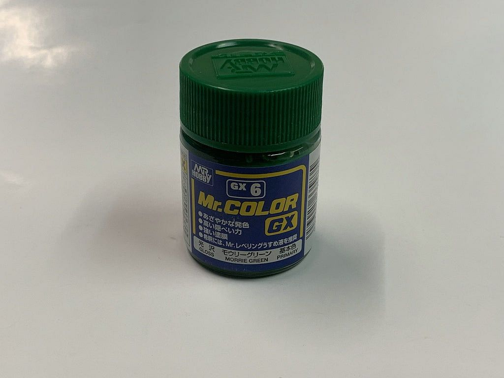 GNZ-GX6: GX6 GX Gloss Green 18ml