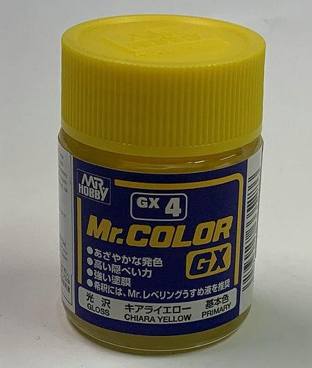 GNZ-GX4: GX4 GX Gloss Yellow 18ml