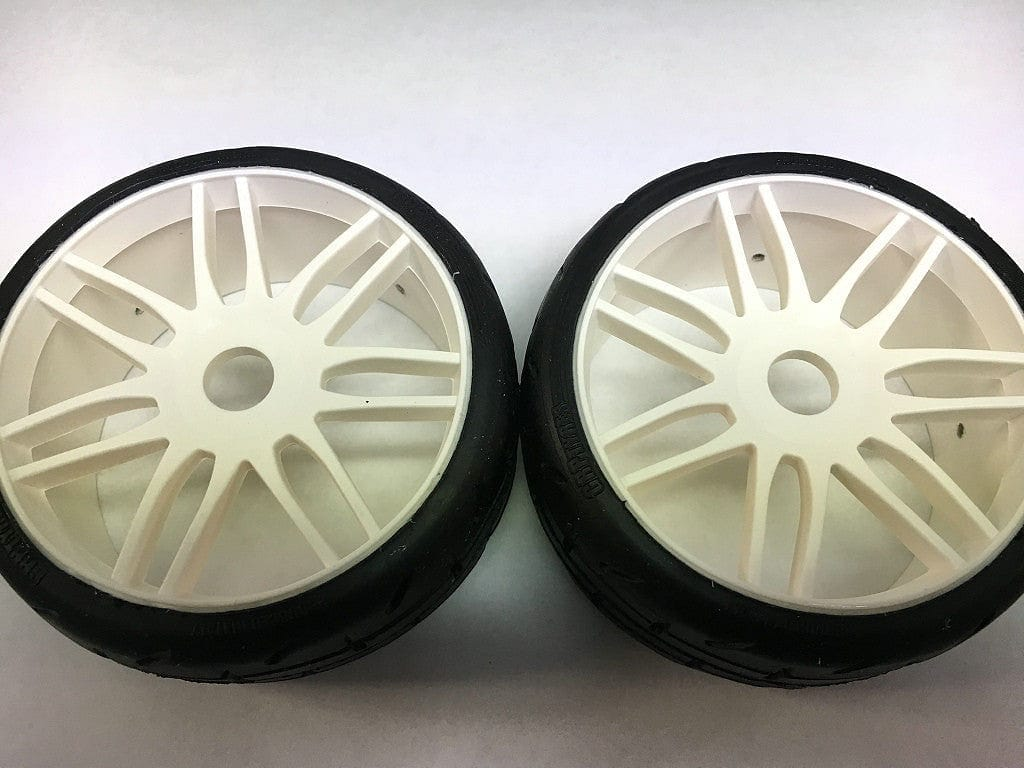 GRP GTH01-S4 1:8 GT- S4 SoftMedium -White Wheel - RUI YONG HOBBY