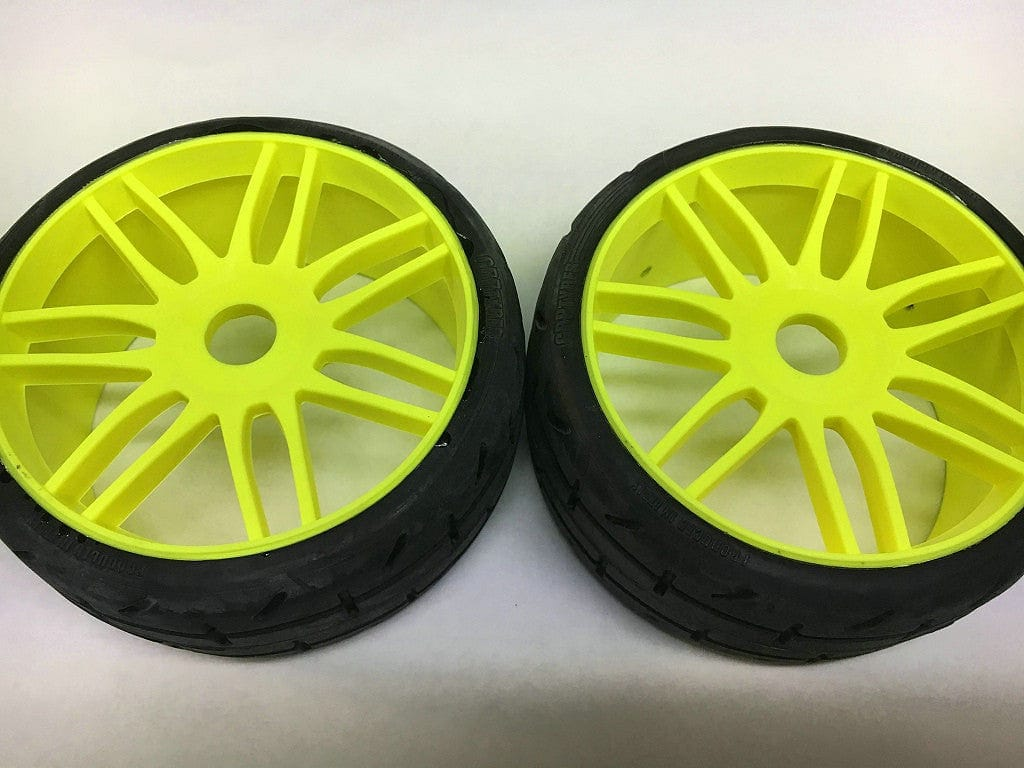 GRP GTY01-S4 1:8 GT- S4 SoftMedium -Yellow Wheel - RUI YONG HOBBY