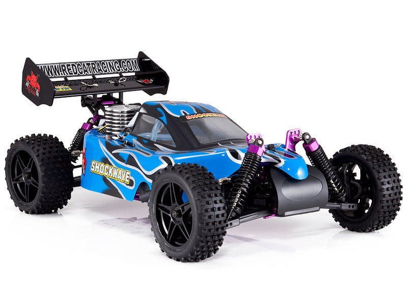 Shockwave 1/10 Scale Nitro Buggy (BLUE)(store only) - RUI YONG HOBBY