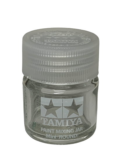 TAMIYA 81044 SPARE BOTTLE MINI - ROUND