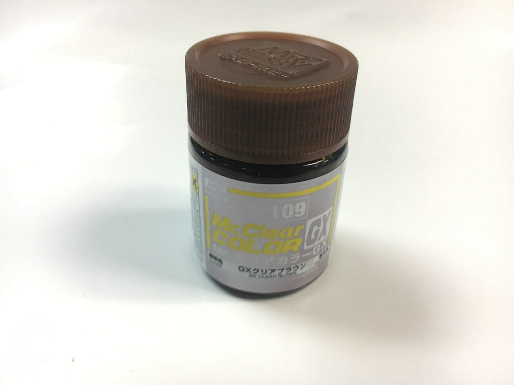 GNZ-GX109: GX109 Clear Brown 18ml - RUI YONG HOBBY