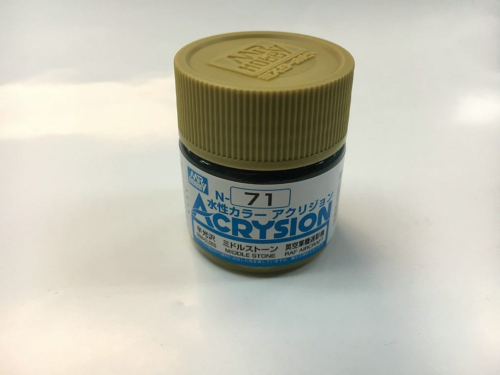 GNZ-N71: GNZ-N71 Middle Stone 10ml Bottle - RUI YONG HOBBY