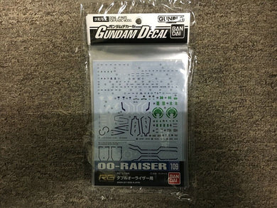 BANDAI 221289 Gundam Decal No.109 RG 1/144 OO-Raise