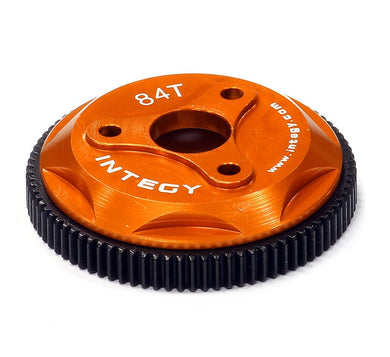 INTEGY T8029ORANGE 84T METAL SPUR GEAR