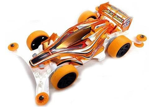 TAMIYA 95083 JR Aero Avante Orange Special - AR Chassis Clear Orange
