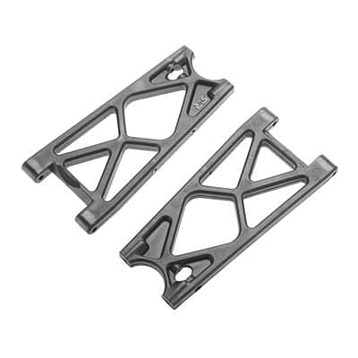 ARRMA 330333 Rear Lower Suspension Arms Nero (2) - RUI YONG HOBBY