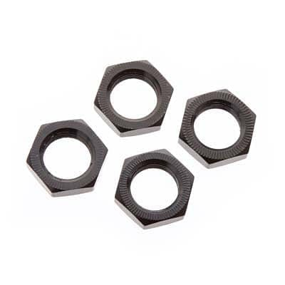 ARRMA 310449 Wheel Nut Aluminum 17mm Black (4) - RUI YONG HOBBY