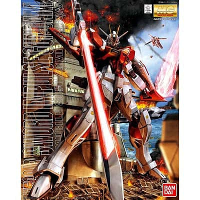 bandai 158494 1/100 Sword Impulse Gundam MG - RUI YONG HOBBY