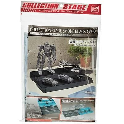BANDAI 221049 Collection Stage Smoke Black Clear Collection St