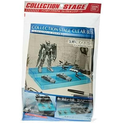 BANDAI 221051 Collection Stage Clear Blue Collection Stage - RUI YONG HOBBY