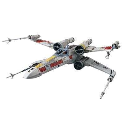 BANDAI 191406 1/72 X-Wing Star Fighter Star Wars