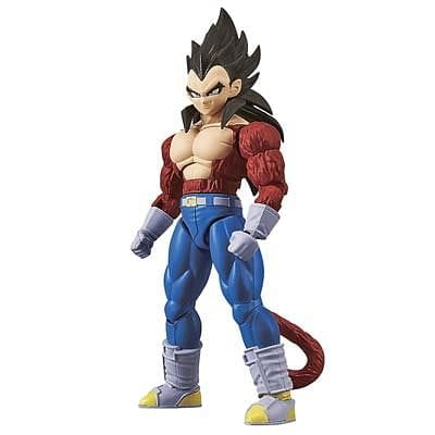 BANDAI 214498 Super Saiyan 4 Son Vegeta Drgn Ball GT Fig-Ris - RUI YONG HOBBY