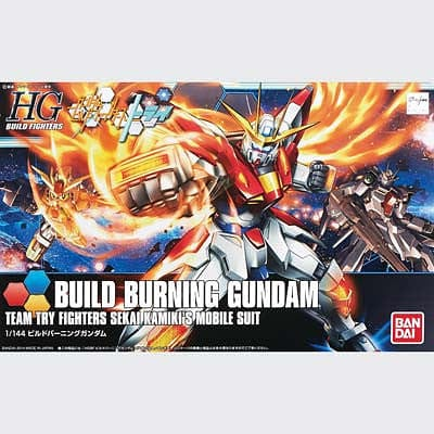 BANDAI 193230 1/144 Build Burning Gundam - RUI YONG HOBBY