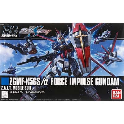 BANDAI 206326 1/144 Force Impulse Gundam Seed Destiny HG - RUI YONG HOBBY