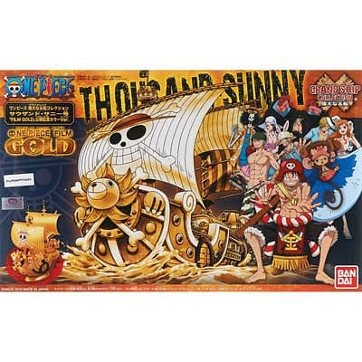 bandai  207582 One Piece Thousand Sunny Grand Ship Collection