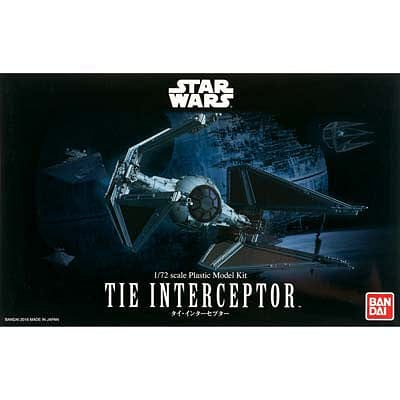 BANDAI 208099 1/72 Tie Interceptor Star Wars