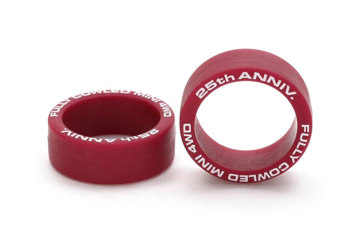 TAMIYA 95116 JR LOW FRICTION LP TIRE MAROON
