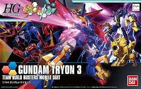 BANDAI 196707 1/144 HG Build Fighters #38 Gundam Tryon 3 - RUI YONG HOBBY