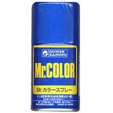 Mr. Color Spray #101 CHARACTER BLUE SEMI GLOSS 100ml, - RUI YONG HOBBY