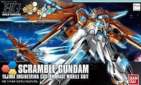 BANDAI 207605 1/144 Gundam HG Build Fighters Try Scramble - RUI YONG HOBBY