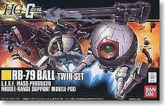 Bandai 164569 1/144 Rb-79 Ball Twin Set - RUI YONG HOBBY