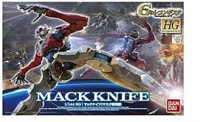 BANDAI 196422 1/144 HG #10 Mack Knife Mask Use Model Kit - RUI YONG HOBBY