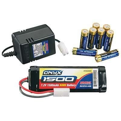 Power Kit 1500 7.2V NiMH 2-3 Hr Wall Chrgr 8AA - RUI YONG HOBBY