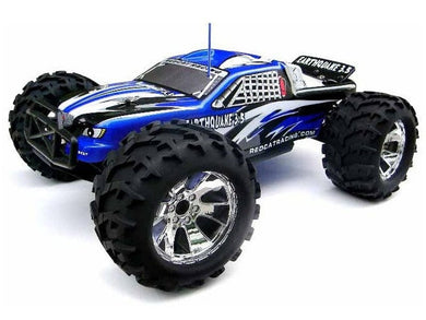 Earthquake 3.5 1/8 Scale Nitro Monster Truck (BLUE) - RUI YONG HOBBY