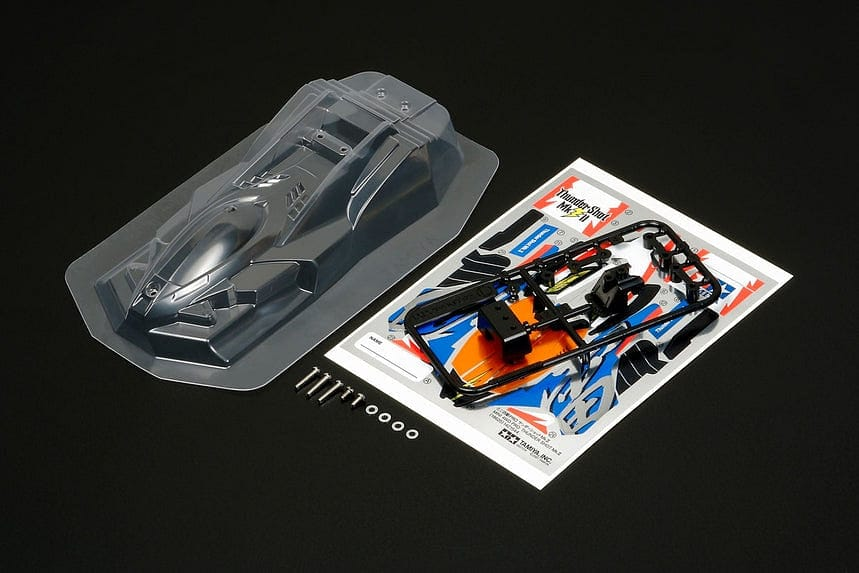 TAMIYA 95444 JR BODY SET THUNDER SHOT MKII