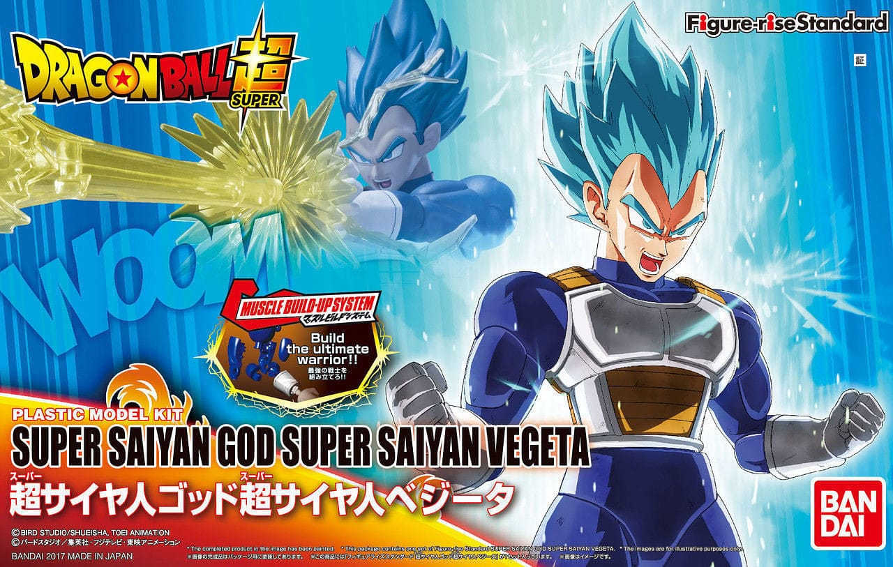 "BANDAI 219766: Super Saiyan God Super Saiyan Vegeta ""Dragon Ball Super"", - RUI YONG HOBBY"