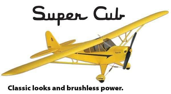 Piper Super Cub Select Scale RTF 2.4GHz
