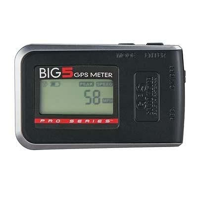 Pro Series Big 5 GPS Meter Speed Altitude Distance Time